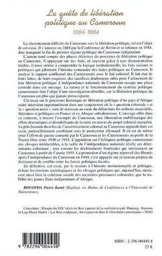 4eme La quête de libération politique au Cameroun