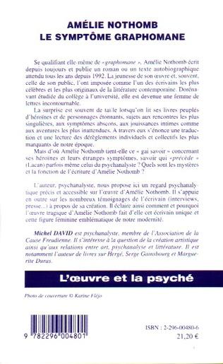 4eme Amélie Nothomb