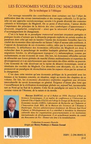 4eme Les économies voilées du Maghreb