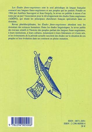 4eme Etudes finno-ougriennes 37