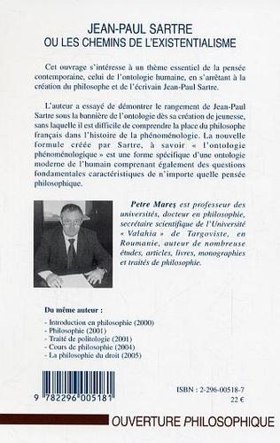 4eme Jean-Paul Sartre ou les chemins de l'existentialisme