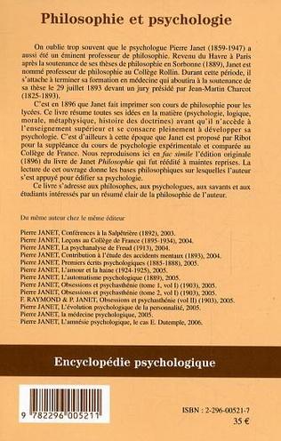 4eme Philosophie et psychologie