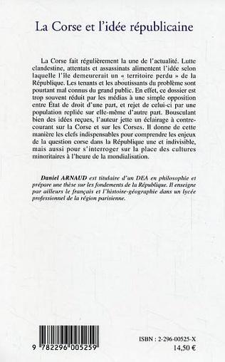 4eme La Corse et l'idée républicaine