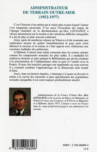 4eme Administrateur de terrain Outre-Mer (1952-1977)