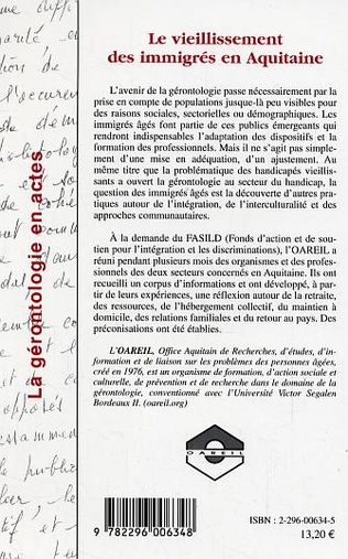 4eme Le vieillissement des immigrés en Aquitaine