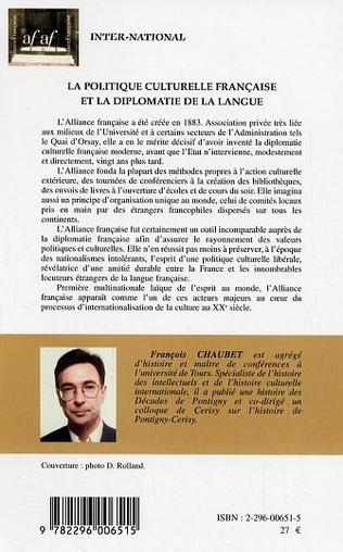4eme La politique culturelle française et la diplomatie de la langue