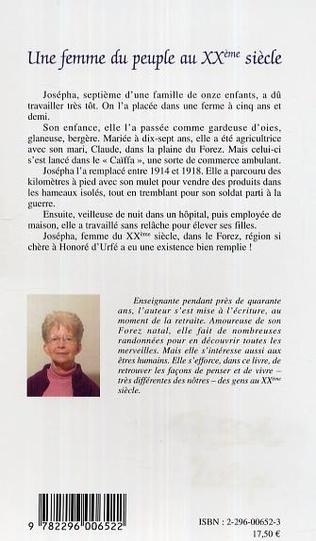 4eme Une femme du peuple au XXème siècle