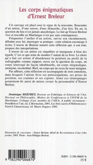 4eme Les corps énigmatiques d'Ernest Breleur