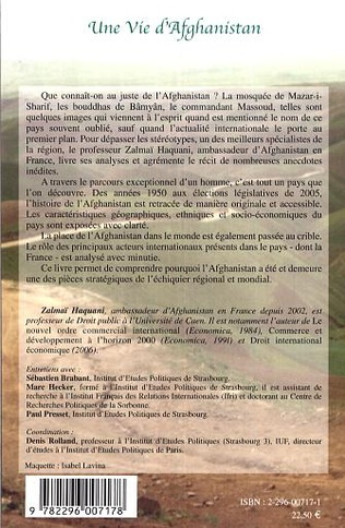 4eme Souvenirs d'un étudiant afghan en France 1966-1978