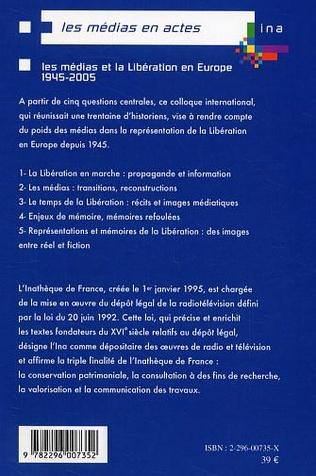 4eme Les médias et la Libération en Europe