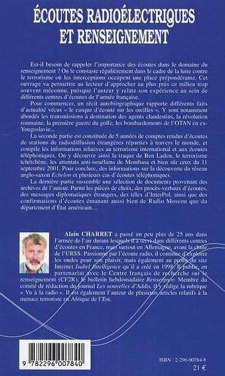 4eme Ecoutes radioélectriques et renseignement
