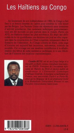 4eme Les Haïtiens au Congo