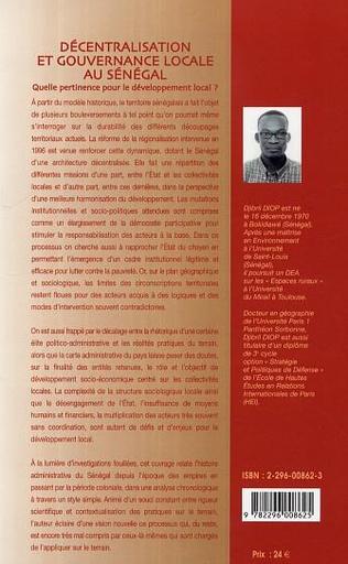 4eme Décentralisation et gouvernance locale au Sénégal