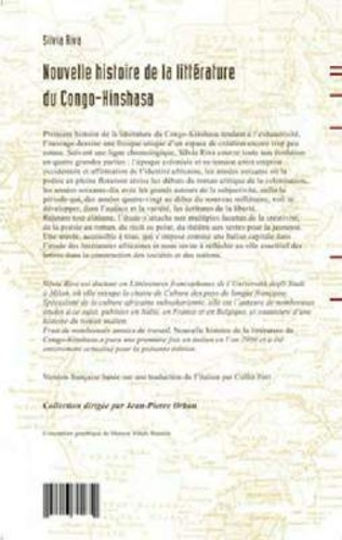 4eme Nouvelle histoire de la littérature du Congo-Kinshasa