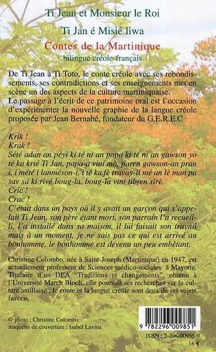 4eme Ti Jean et Monsieur le Roi / Ti Jan et Misié liwa