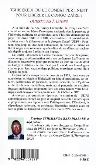 4eme Le combat d'Etienne tshisekedi vu par ses compatriotes, par les occidentaux et par certains leaders politiques africains