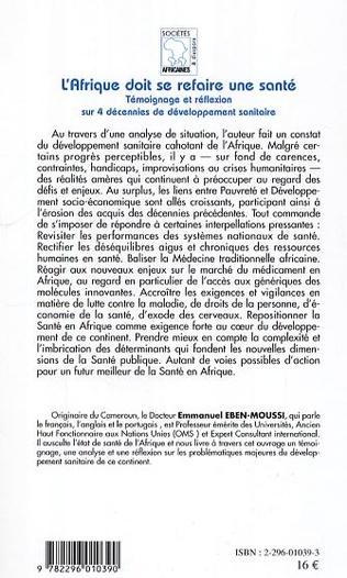 4eme La réalité vivante de la médecine traditionnelle en Afrique