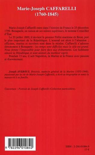 4eme Marie-Joseph Caffarelli (1760-1845)