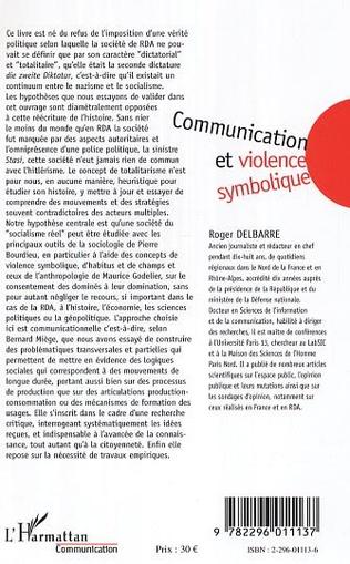 4eme Communication et violence symbolique