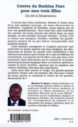 4eme Contes du Burkina Faso pour mes trois filles