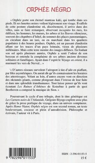 4eme Orphée Négro