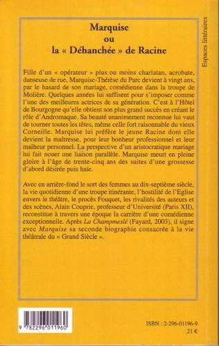 4eme Marquise ou la Déhanchée de Racine