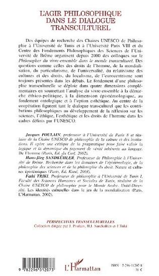 4eme L'Agir philosophique dans le dialogue transculturel