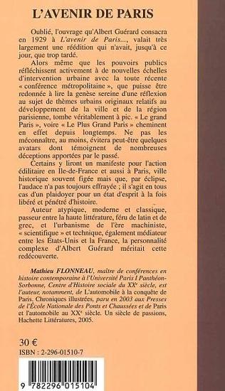 4eme L'avenir de Paris
