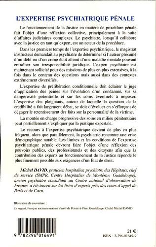 4eme L'expertise psychiatrique pénale