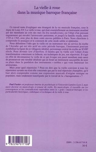 4eme La vielle à roue dans la musique baroque française