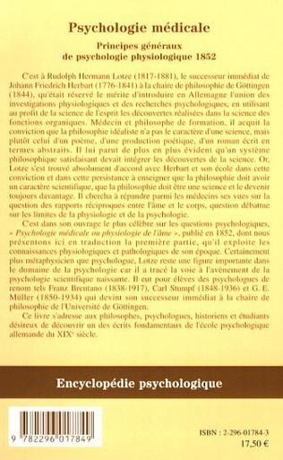 4eme Psychologie médicale
