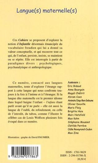 4eme Langue(s) maternelle(s)