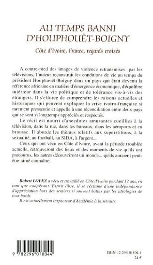 4eme Au temps banni d'Houphouët-Boigny