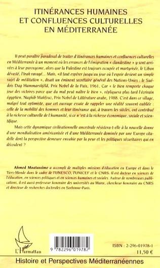 4eme Itinérances humaines et confluences culturelles en Méditerranée