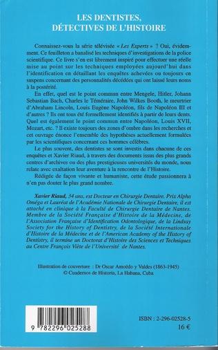 4eme Les dentistes, détectives de l'histoire