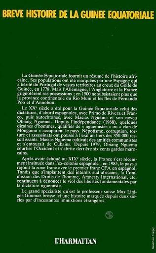 4eme Brève Histoire de la Guinée Équatoriale