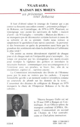 4eme Centrafrique - N'garagba maison des morts