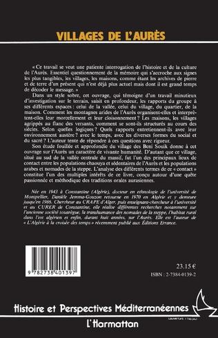 4eme Villages de L'Aurès, archives de pierres