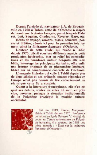 4eme Tahïti dans toute sa littérature