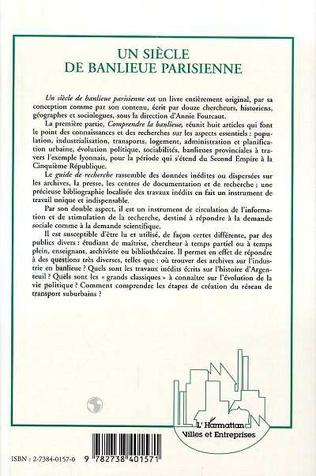 4eme Un siècle de banlieue parisienne