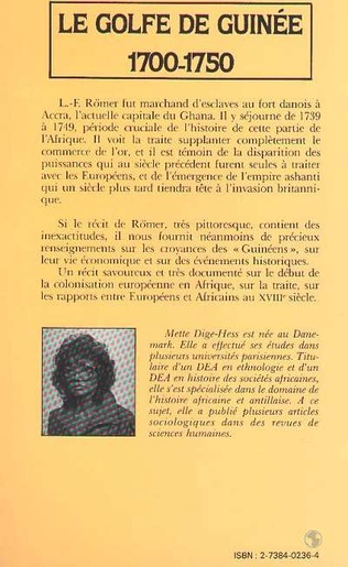 4eme Le golfe de Guinée, 1700-1750