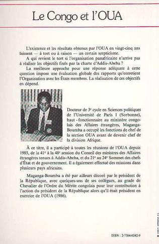 4eme Le Congo et l'OUA