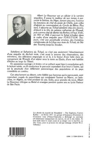 4eme Sahéliens et Sahariens du Tchad