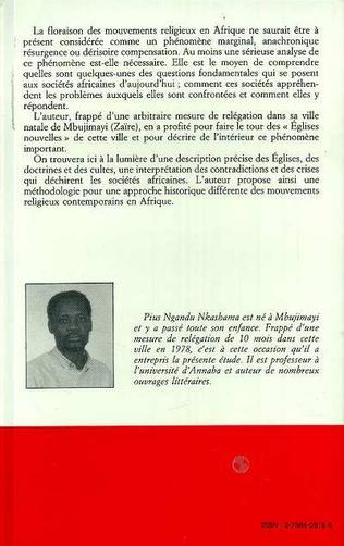 4eme Églises nouvelles et mouvements religieux