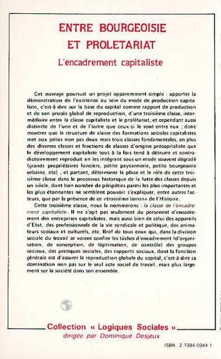 4eme Entre bourgeoisie et prolétariat