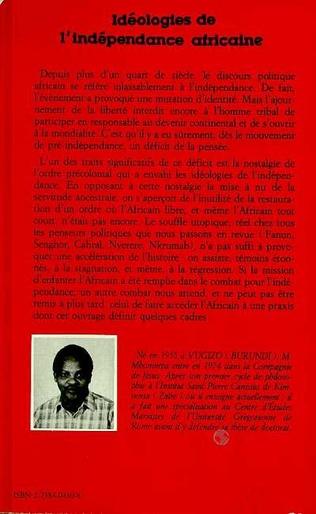 4eme Idéologies de l'indépendance africaine