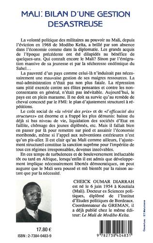 4eme Mali: Bilan d'une gestion désastreuse