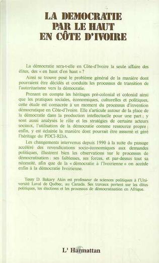 4eme La démocratie par le haut en Côte d'Ivoire