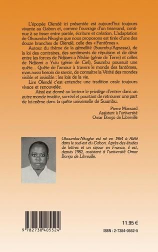 4eme Olendé, une épopée du Gabon