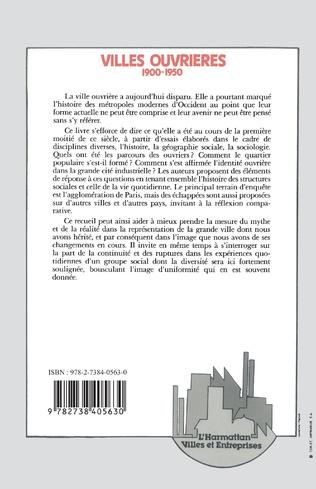 4eme Villes ouvrières